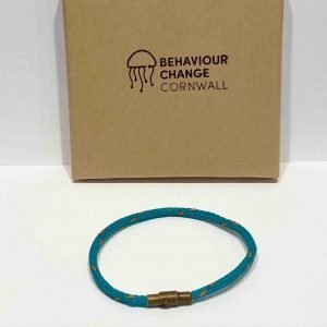 Hannafore Beach Bracelet <br><br><i>Recycled from Ghost Fishing Nets <br> Handmade Cornish Jewellery </I>