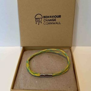 Polzeath Ghost Net Bracelet – Lemon and Lime