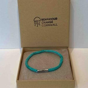 Fistral Beach Ghost Net Bracelet – Green