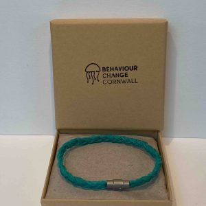 Perranporth Beach Braided Bracelet <br><br><i>Recycled from Ghost Fishing Nets <br> Handmade Cornish Jewellery</I>