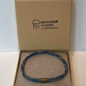 Talland Bay Bracelet <br><br><i>Recycled from Ghost Fishing Nets <br> Handmade Cornish Jewellery</I>