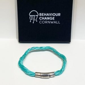 """Nanjizal """"Song of the Sea"""" Bracelet <br><br><i>Recycled from Ghost Fishing Nets <br> Handmade Cornish Jewellery</I>"""