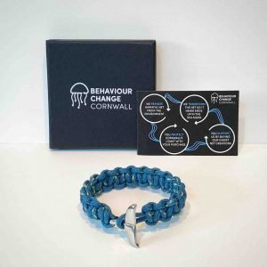 Looe Island Braided Bracelet<br><br><i>Recycled from Ghost Fishing Nets <br> Limited Rare Collection </I>