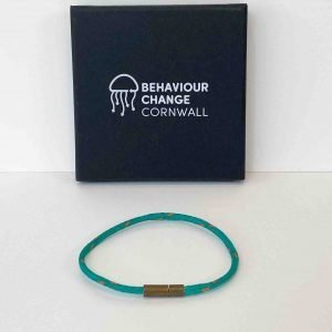 Tregantle Beach Bracelet <br><br><i>Recycled from Ghost Fishing Nets <br> Handmade Cornish Jewellery</I>