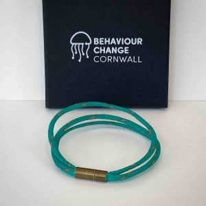 Church Cove Triple Bracelet <br><br><I> Recycled from Ghost Fishing Nets <br> Handmade  Cornish Jewellery </I>