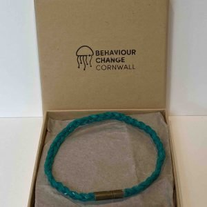 Looe Harbour Braided Bracelet <br><br><i>Recycled from Ghost Fishing Nets <br> Handmade Cornish Jewellery</I>