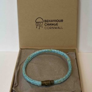 Lantic Bay Beach Bracelet <br><br><i>Recycled from Ghost Fishing Nets <br> Handmade Cornish Jewellery</I>