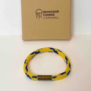 Downderry Beach Bracelet <br><br><i>Recycled from Ghost Fishing Nets <br>Handmade Cornish Jewellery</I>