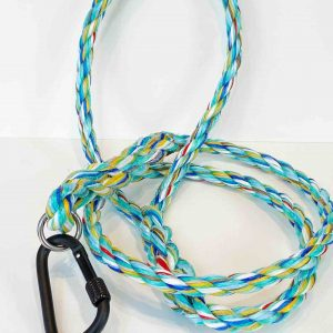 Ghost Gear Rainbow Dog Leash <br><br> Recycled from Ghost Fishing Rope <br> Only One Will Ever Be Created! <br>