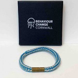 Polzeath Soft Core Bracelet <br><br><i>Recycled from Ghost Fishing Line <br> One Off Piece </I>