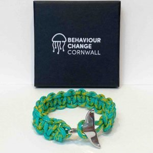 Lantic Bay Whale Tail Bracelet<br><br><i>Recycled from Ghost Fishing Nets <br> Limited Rare Collection </I>