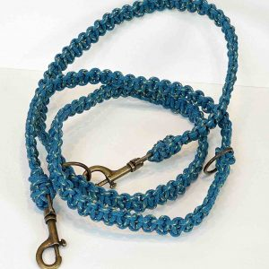 Ghost Net Dog Leash <br><br> 1.6m Adjustable Lead Length Recycled from Ghost Fishing Nets <br>
