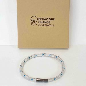 Constantine Bracelet <br><br><I> Recycled from Ghost Fishing Nets <br> Handmade Cornish Jewellery </I>