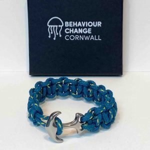 Looe Island Anchor Bracelet <br><br><i>Recycled from Ghost Fishing Nets <br> Only One Created </I>