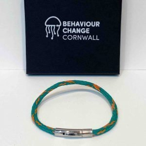 Polly Joke Bracelet <br><br><i>Recycled from Ghost Fishing Nets <br> Only One Will Ever Exist </I>