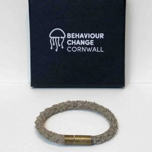 Freathy Beach Bracelet <br><br><i>Recycled from Ghost Fishing Nets <br> Handmade Cornish Jewellery</I>