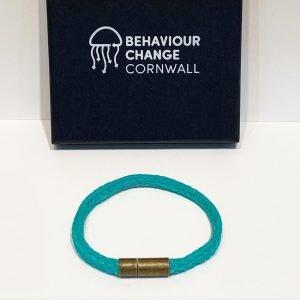 Lantic Bay Beach Bracelet <br><br><i>Recycled from Ghost Fishing Nets <br> Handmade Cornish Jewellery </I>