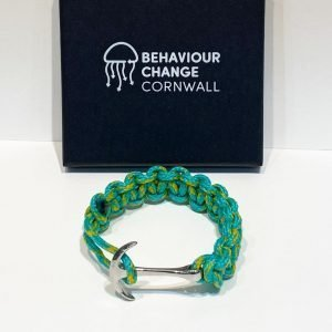 Lantic Bay Anchor Bracelet<br><br><i>Recycled from Ghost Fishing Nets <br> Limited Rare Collection </I>