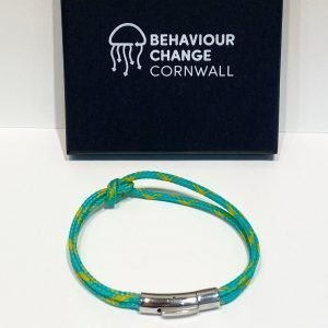 Fishermen's Kiss Bracelets <br><br><I> Recycled from Ghost Fishing Nets <br> From Lantic Bay near Fowey </I>