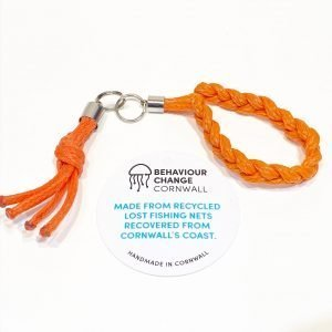 Fishermen's Kiss & Braided <br>Zipper Pulls / Keyrings <br><br><I> Recycled from Ghost Fishing Nets <br> Come in Pairs </I>