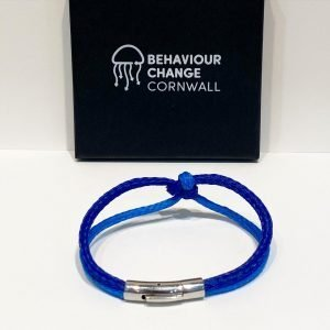 Looe Island Fishermen's Kiss Bracelets <br><br><I> Recycled from Ghost Fishing Nets <br> Only Two Ever Made </I>