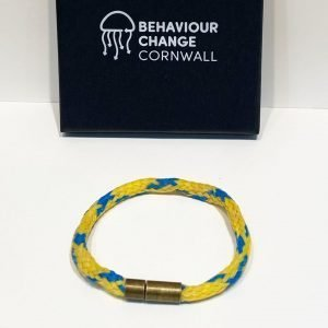Portwrinkle Beach Bracelet <br><br><I> Recycled from Ghost Fishing Nets <br> Handmade Cornish Jewellery </I>